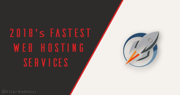 fastest web hosting 2019
