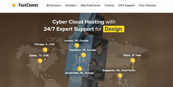 Fastcomet Siteground hosting alternative