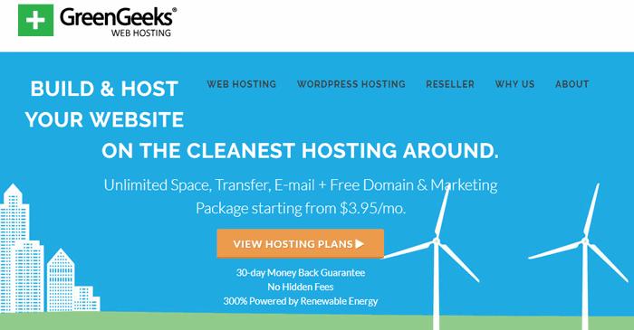 greengeeks siteground competitor