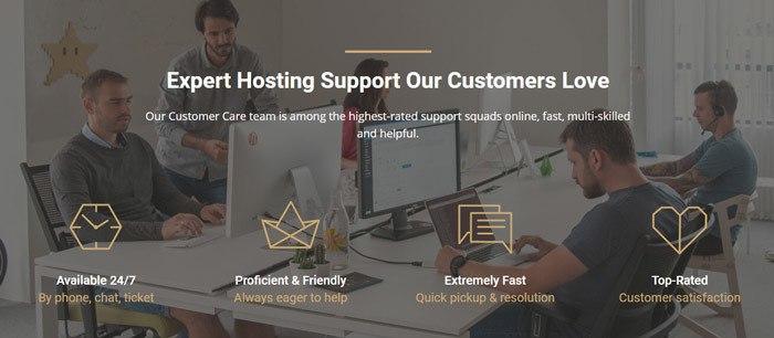 siteground customer support team