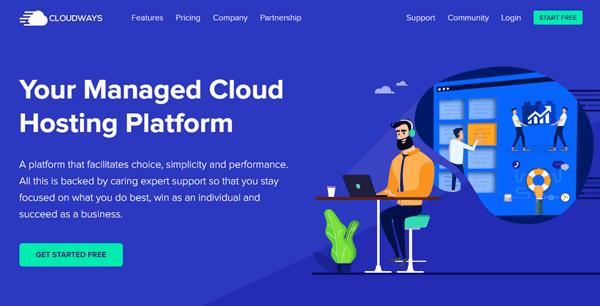 Cloudways cloud servers